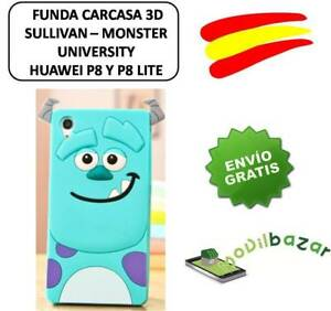 Cover case huawei p8 y p8 lite monster university sullivan silicone image is loading cover case huawei p8 y p8 lite monster voltagebd Image collections