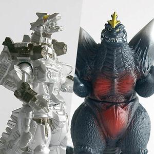 Bandai Godzilla HG Sofubi - Set of 2 - MechaGodzilla 2004 & SpaceGodzilla