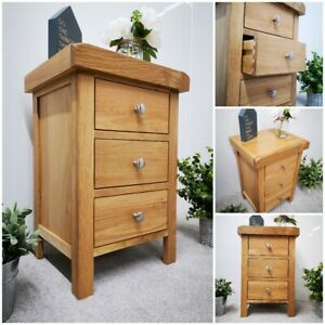 Bedside Table Rustic Cabinet