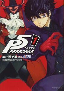 Persona 5 1 Japanese Comic Manga Game P5 Akira Kurusu Ebay