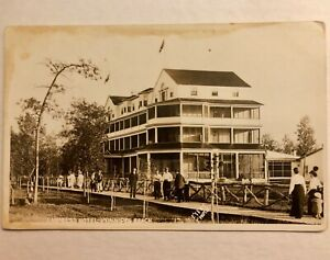 EMPRESS-HOTEL-WINNIPEG-BEACH-MANITOBA-RPPC-REAL-PHOTO-MEYERS-Postcard