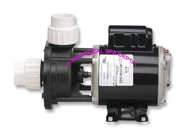 Aqua-Flo CIRC-MASTER spa pump CMCP 1 15 HP, center discharge 230V 50 60Hz 0.63A