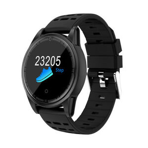 smartwatch r13 herzfrequenz puls uhr blutdruck fitness. Black Bedroom Furniture Sets. Home Design Ideas