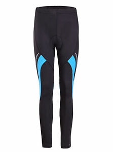 Homme-Velo-3D-Rembourre-Pantalon-Collants-Riding-Sport-Pantalon-Long-US-Taille-S-XL