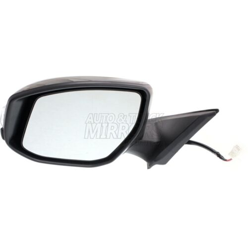 Fits Altima 13-15 Driver Side Mirror Replacement With Signal Lamp