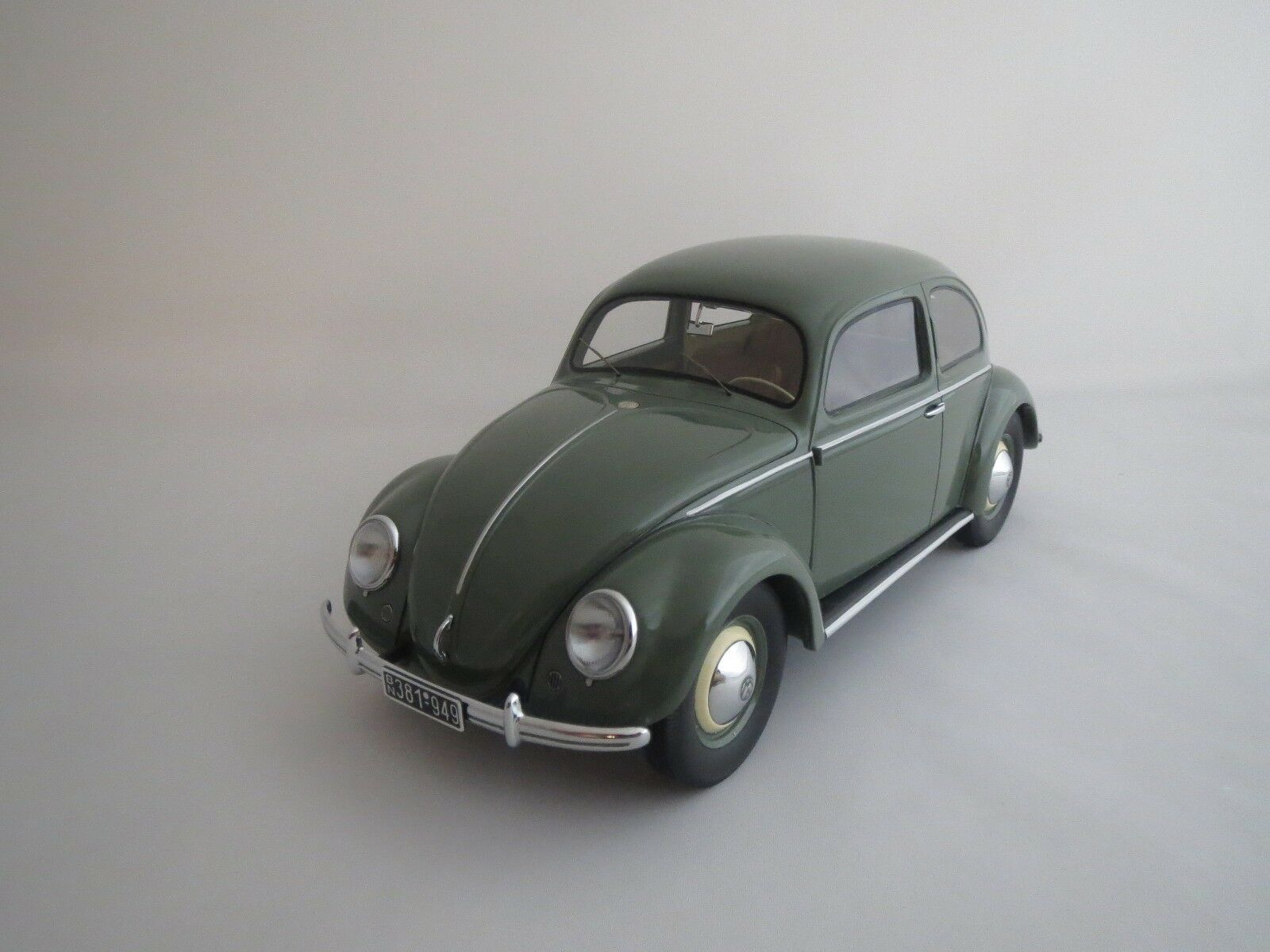 autentico en linea Minichamps volkswagen volkswagen volkswagen esCocheabajo Saloon  1949  (verde-gris) 1 18 sin embalaje   ahorra hasta un 70%