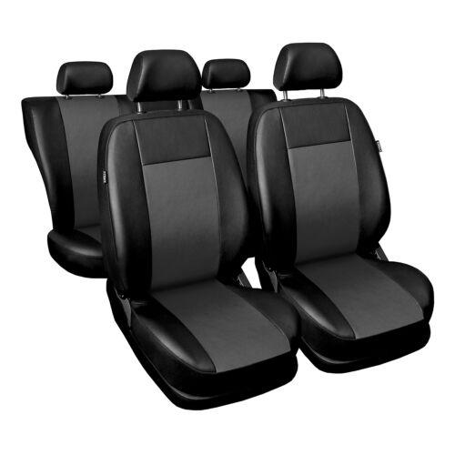 Universal auto referencias asiento fundas para asientos ya referencia referencia para Skoda Octavia gris
