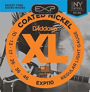 D-039-Addario-EXP110-rivestito-Stringhe-Chitarra-Elettrica-Luce-10-46