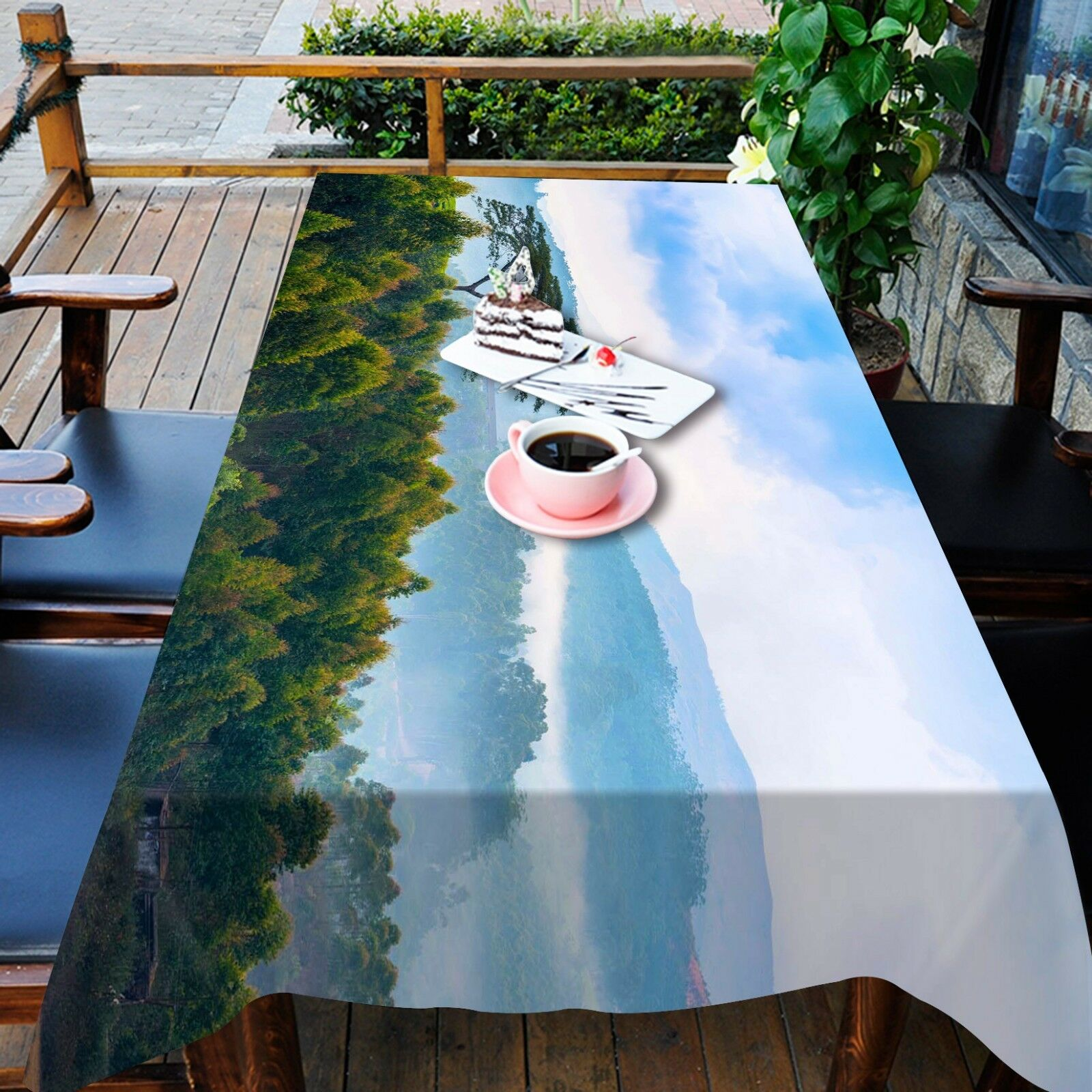 3D Mount Pine 135 Tablecloth Table Cover Cloth Birthday Party Event AJ Lemon