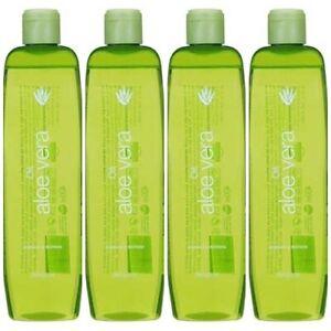 4-X-400-ml-SPANISH-Aloe-Vera-body-oil-DELIPLUS