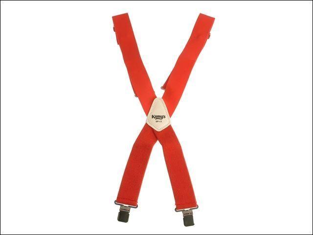 Kuny's - SP-17R Red Braces 2 in Wide