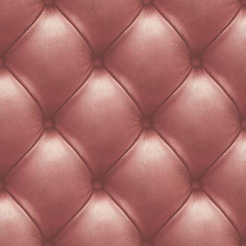 3D Cuir Mur Papier Peint Capitonné Rouge Matelassé Matelassé Effet Vinyl Coller Paroi