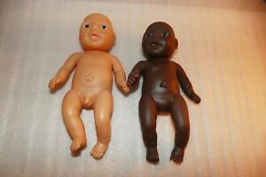 Two-anatomically-correct-baby-dolls-1-girl-1-boy-approx-9-034-tall