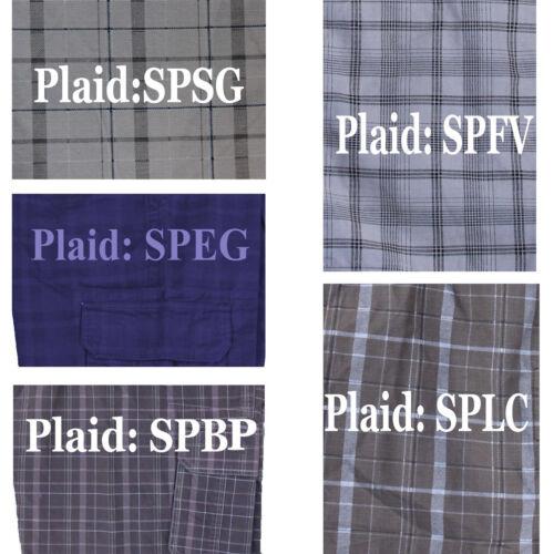 "Men Dickies Shorts 13/"" Bellowed Cargo Pockets Plaid Short Pant WR551 size 30-44"