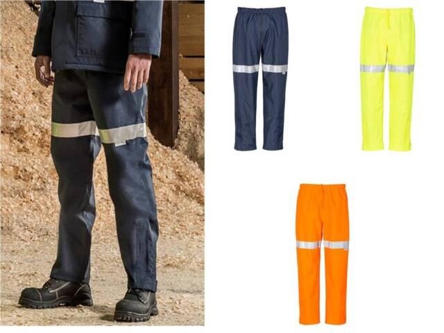 Syzmik Mens Taped Storm Pant Tradie Tradesman Pants  ZJ352 Mens S-5XL & 7XL,Work