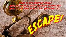 Escape! Radio Program - OTR - Old Time Radio - All Known Episodes -  9 MP3 CD's!
