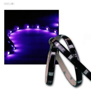 1m más flexibles SMD LED tiras UV/luz negra ip44, banda luminosa barra de luz 12v DC  </span>