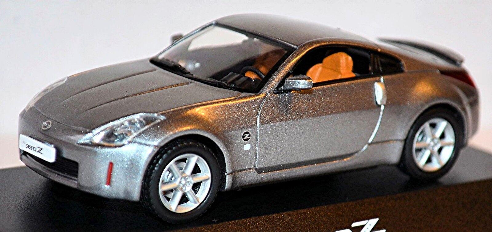 Nissan 350 Z Coupe Z33 Z33 Z33 Fairlady Z 2002-05 grey grey metallic 1 43 e12776