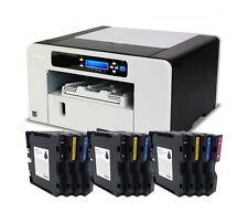RICOH Aficio SG 2100N A4 Tshirt Heat Transfer Printing + 3 sets Cartridge Bundle