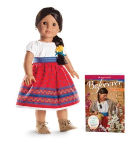 """**NEW** American Girl /'JOSEFINA/' 18/"""" Doll and Book NIB"""
