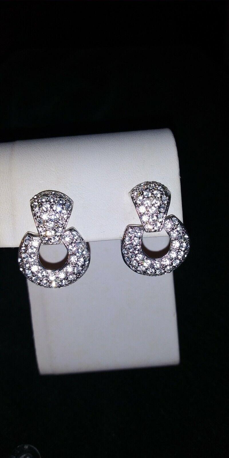 butterfly jewelry purple pin crystal enamel some signed Yummi Glass Roman Gerrys