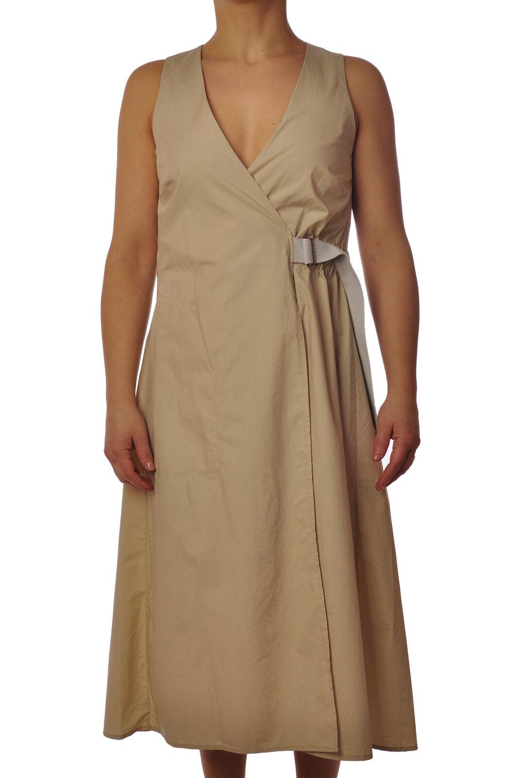 2017 - Dresses-Dress - Woman - Beige - 3386215G184330