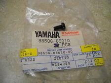 NOS OEM Yamaha Footrest Screw 1978-1995 YFM80 Badger YFS200  XJ900 98506-05010
