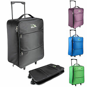 a5ad3ac11 Image is loading Cabin-Max-Stockholm-Trolley-Cabin-Flight-Bag-Suitcase-