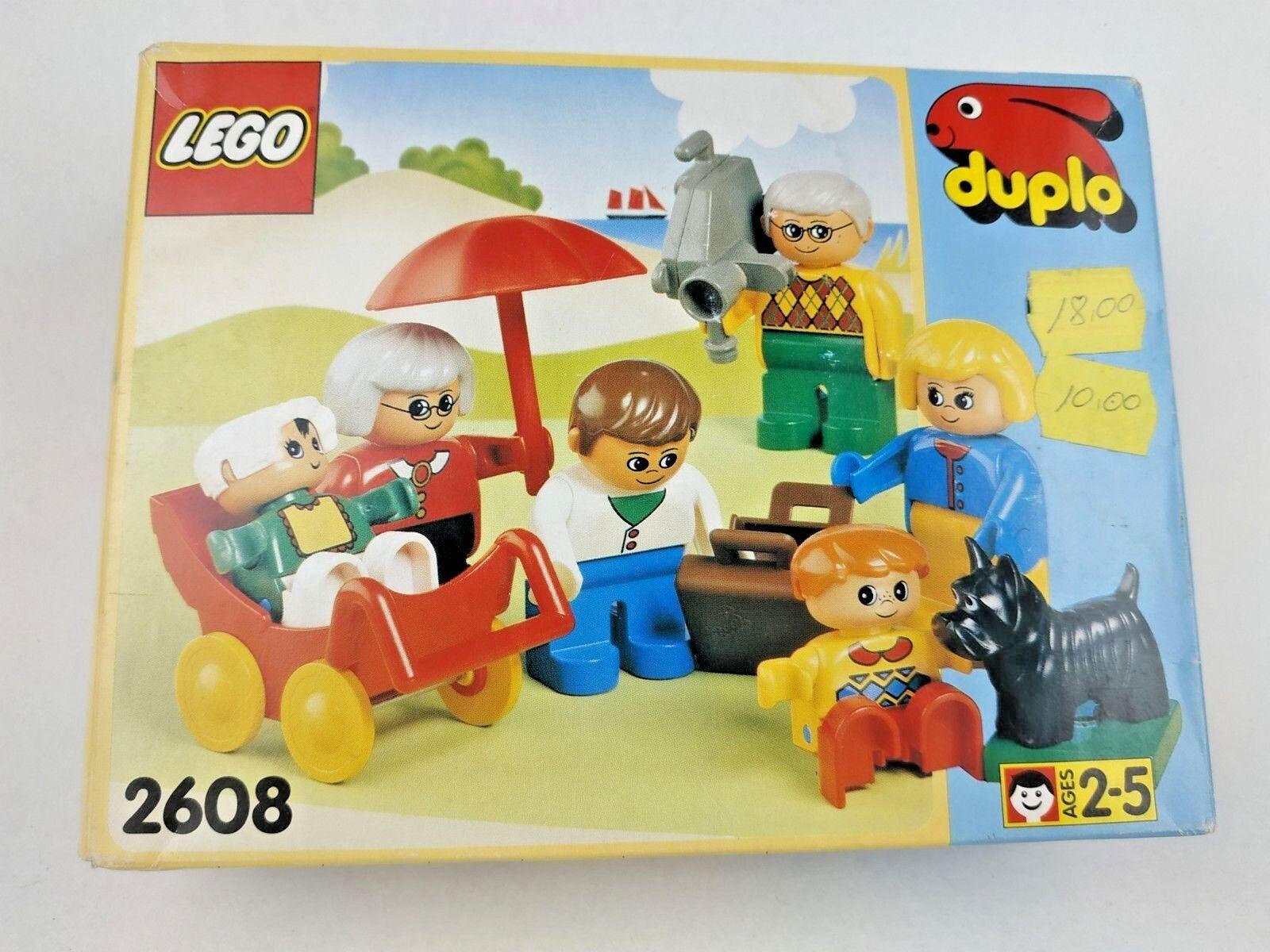 RARE VINTAGE 1994 LEGO DUPLO 2608 FAMILY SET NEW SEALED