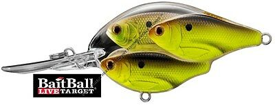 Koppers Live Target Baitball Crankbait Shad Medium Diver TSB65M Any Color Lure