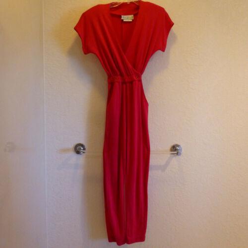 Saint Germain Jumpsuit Rose Cotton Jersey Knit wit