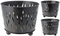 Large Metal Fire Bowl Log Burner Firepit Brazier Garden Patio Heater Fire Basket