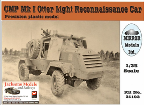 Mirror Models 35103 CMP MkI Otter Recce Car 1 35 Scale Kit