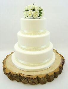 Dettagli Su Torta Nuziale Perla Perlina Nastro Di Raso Molti Colori Fiori Posy Cake Topper Mostra Il Titolo Originale