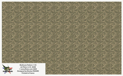 [FFSMC Productions] Decals 1/35 Camouflage Pixels US Marines MARPAT Desert Brun