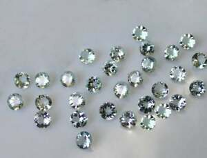 Wholesale Lot 4mm to 11mm Round Facet Natural Black Spinel Loose Calibrated Gems