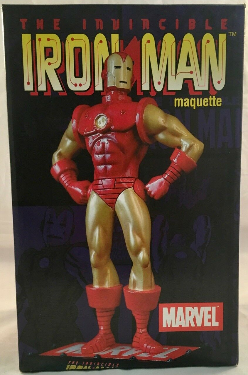 The Invincible Iron Man Marvel Maquette Statue Diamond Select   732 of 2000 NIB