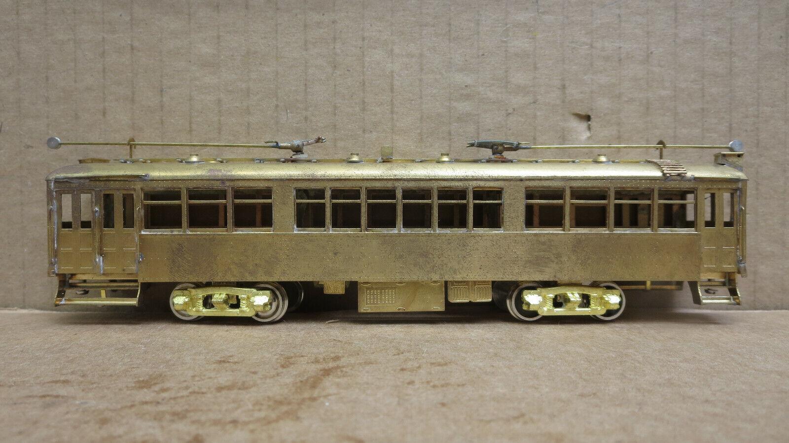 SOHO 0109 Los Angeles Railway tipo H3 senza alimentazione non verniciata in ottone  3 HO