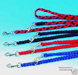 Hundeleine-geflochten-2-00m-lang-x-16-25-mm-breit-3-fach-verstellbar-Fuehrleine