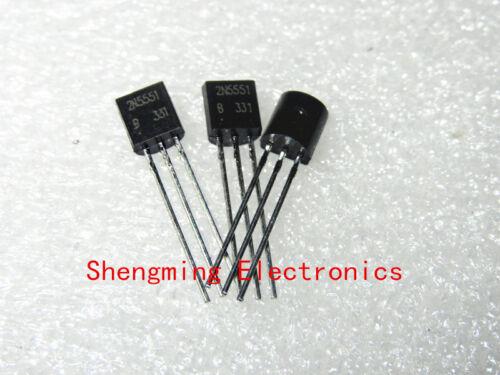 100PCS 2N5551 TO-92 transistor