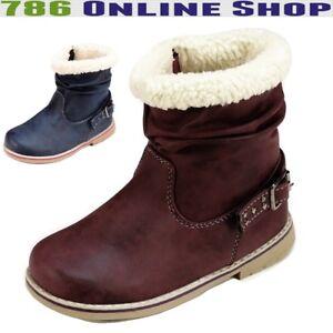 7b259fae72cc5e Das Bild wird geladen Kinder-Schuhe-winterschuhe-287B-winterstiefel-stiefel -Jungen-Maedchen-