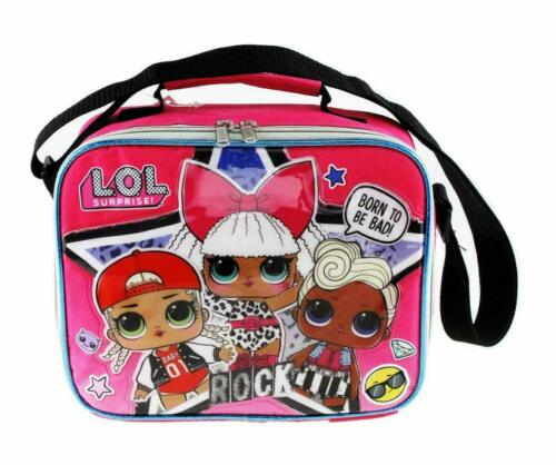 Rock Star Licensed New with Tags Snack Box Lunch Bag For Girl LOL Surprise