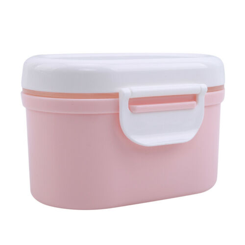 Infant Baby Milk Powder Dispenser Food Container Pot Storage Feeding Box LE