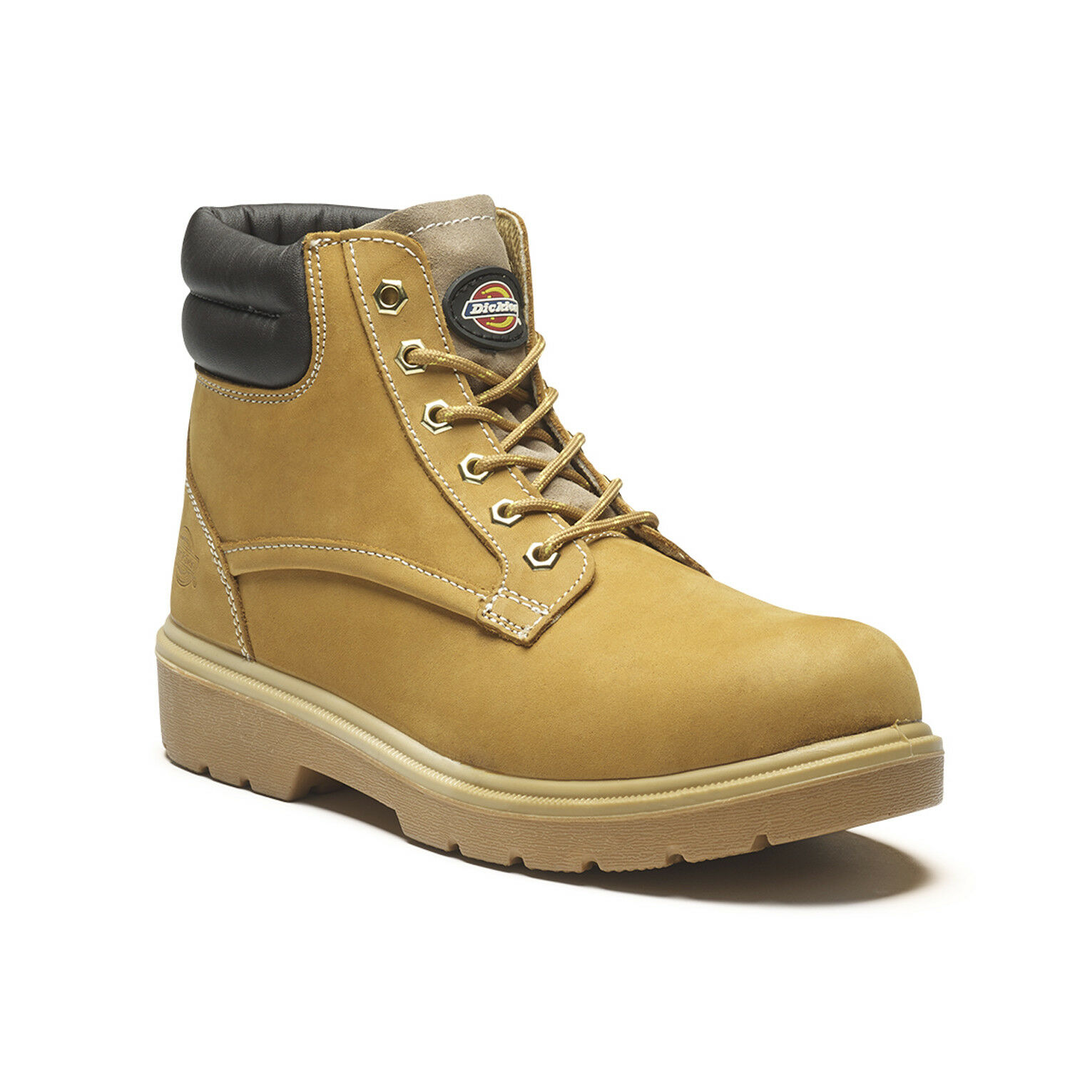 Dickies Donegal Safety Work Boots Tan Honey (Sizes 3-12) Men's shoes