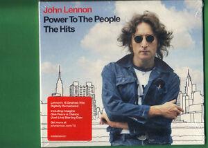 JOHN-LENNON-POWER-TO-THE-PEOPLE-THE-HITS-CD-DIGIPACK-NUOVO-SIGILLATO