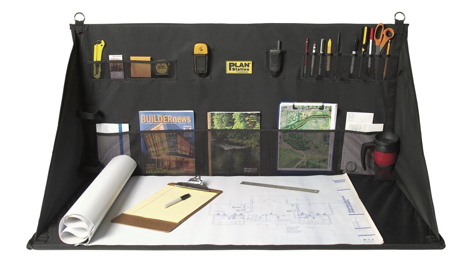 Plan Station Portable Standing Desk, Workbench, Work Station, Storage for