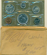 1964 CANADA PROOFLIKE MINT SET, GREAT PRICE!