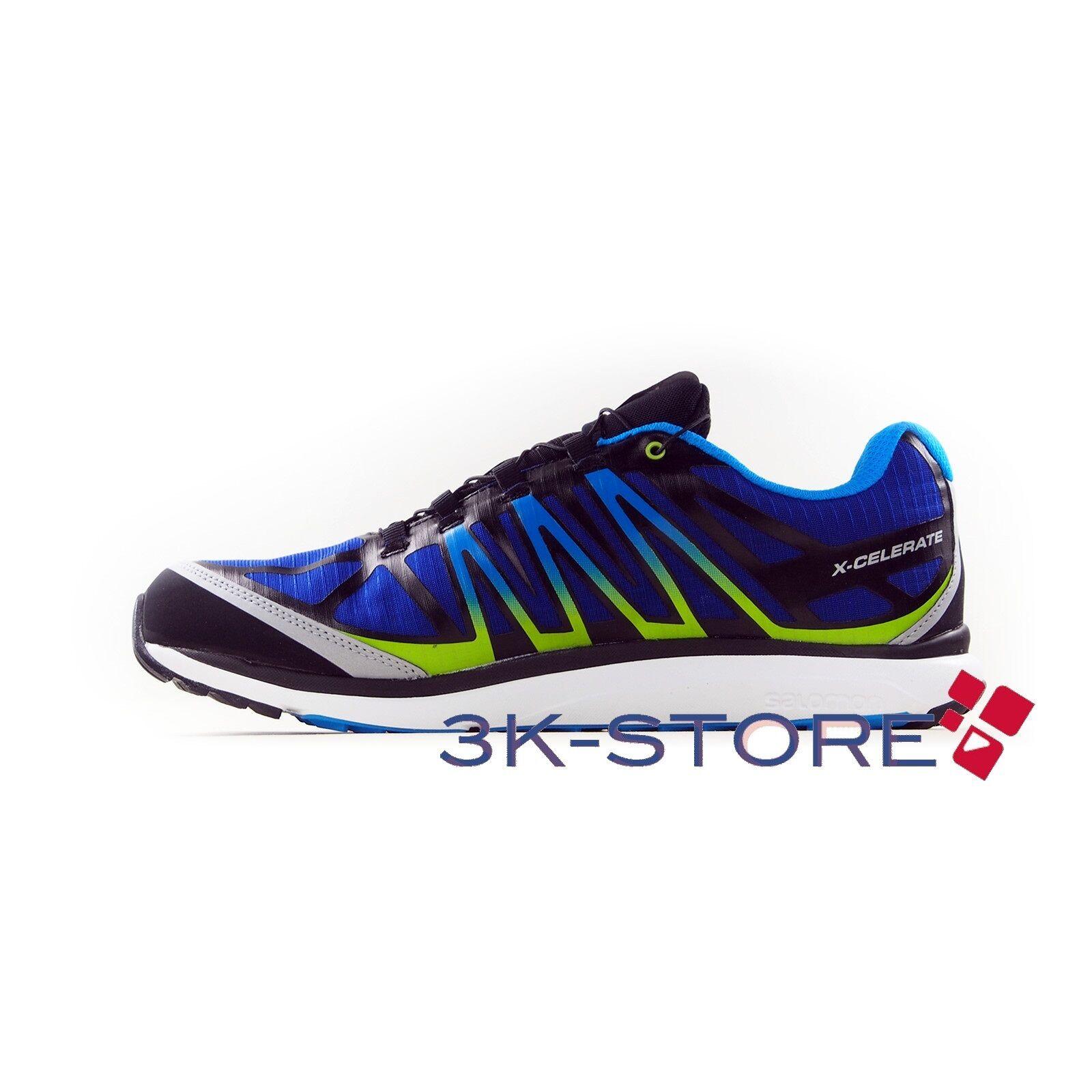 shoes men SALOMON X CELERATE GTX M blueE MONTAGNA TREKKING