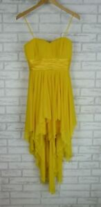 MR-K-Evening-Dress-Sz-10-Yellow-Event-Cocktail-Evening-Dress