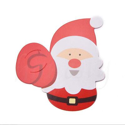 25/50pcs Christmas Lollipop Sticks Paper Candy Chocolate Cak Xmas Decor Gift
